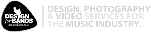 Design for bands | Professional design, photography and videography solutions for the music industry logo