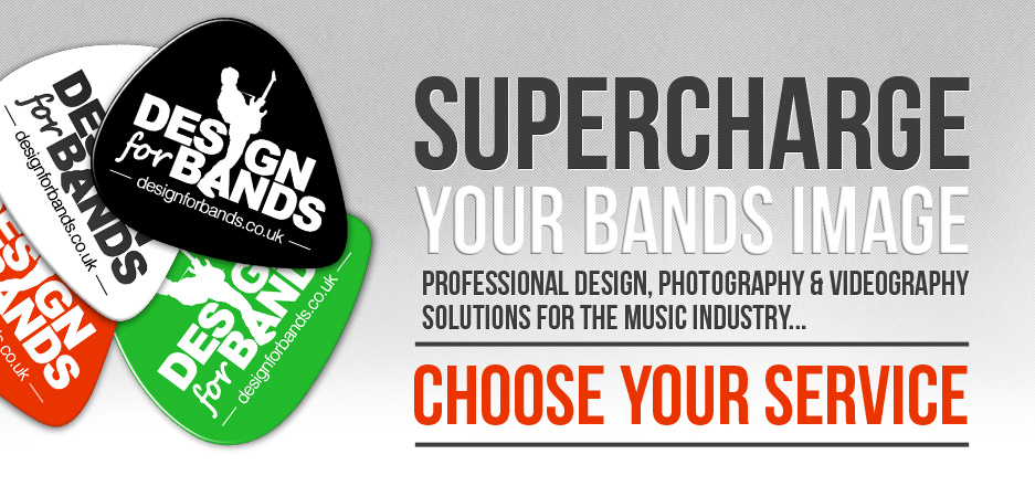 Design for bands | Our services