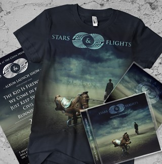 design for bands, album launch design package