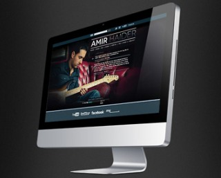 Website design for bands, artists and musicians